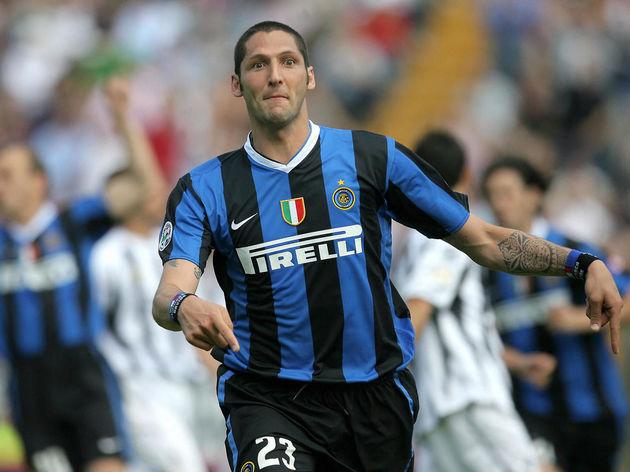 Inter Milan's defender Marco Materazzi j...
