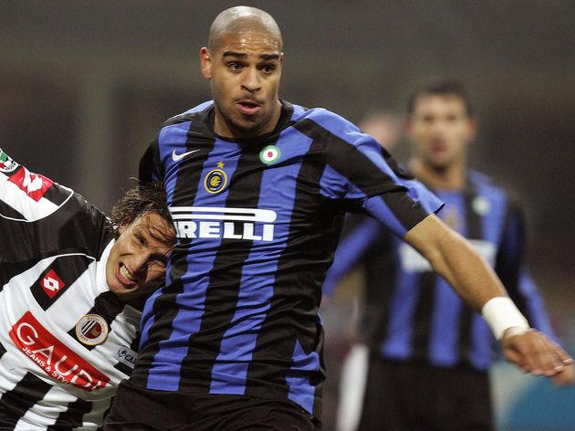 Inter Milan's forward Adriano of Brazil