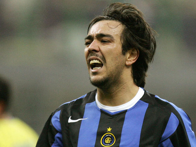 Inter Milan's Uruguayan forward Alvaro R