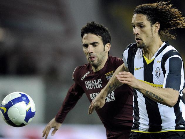 Juventus Brazilian forward Amauri Carval