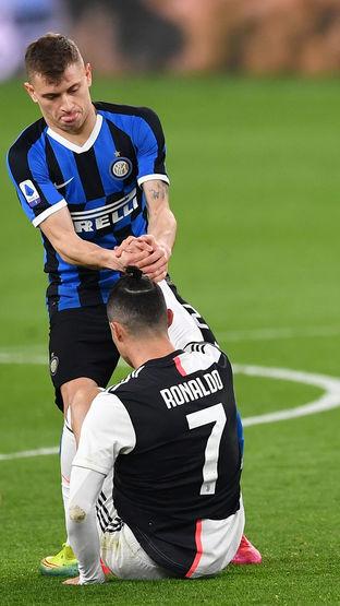 Cristiano Ronaldo,Nicolo Barella