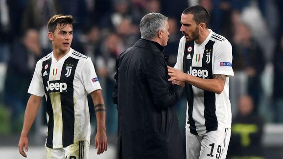 Jose Mourinho,Leonardo Bonucci
