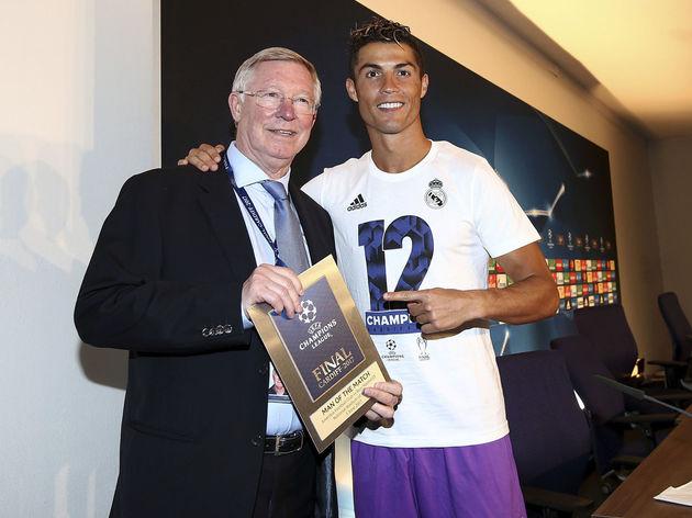 Cristiano Ronaldo,Alex Ferguson