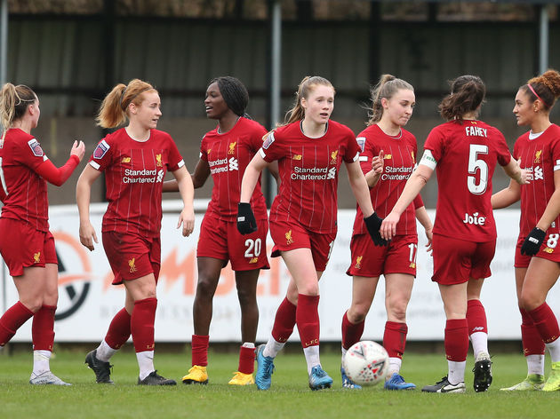 Liverpool FC v Blackburn FC - Women's FA Cup: Fourth Round