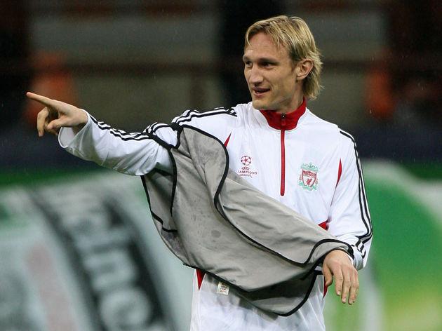 Liverpool's Finnish defender Sami Hyypia