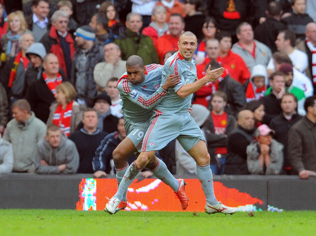 Liverpool's Italian defender Andrea Doss