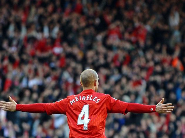Liverpool's Portuguese midfielder Raul M