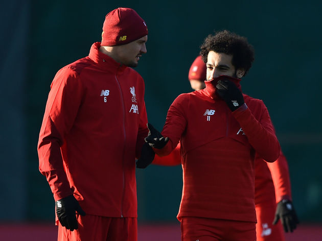 Mohamed Salah,Dejan Lovren