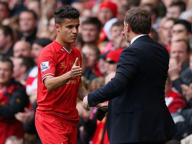Philippe Coutinho,Brendan Rodgers
