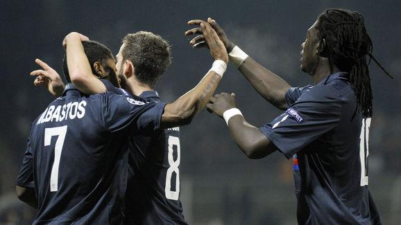 Lyon's Bosnian midfielder Miralem Pjanic