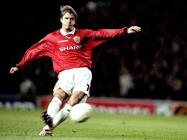 Man United v Juve David Beckham