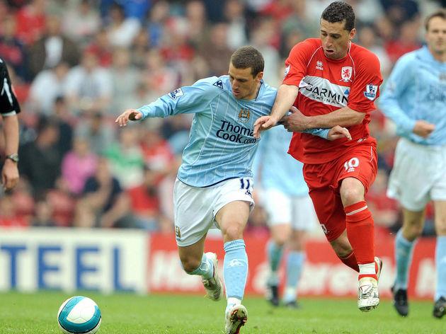 Manchester City's Brazilian forward Elan