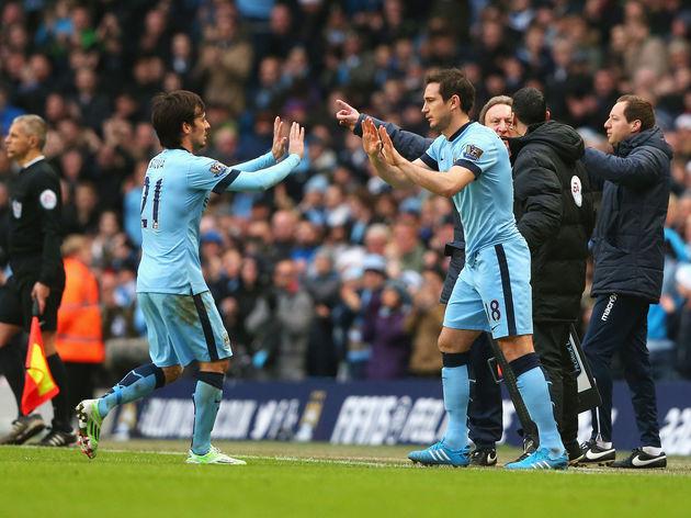 David Silva,Frank Lampard