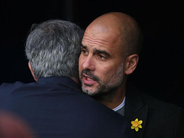 Jose Mourinho,Josep Guardiola