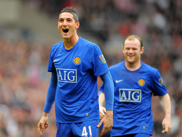 Manchester United's Italian forward Fede