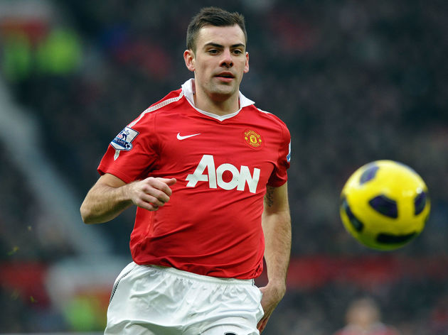 Manchester United's Northern Irish midfi