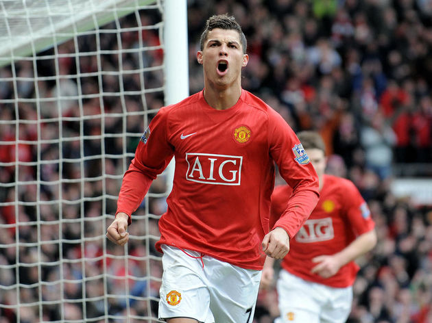 Manchester United's Portugese midfielder