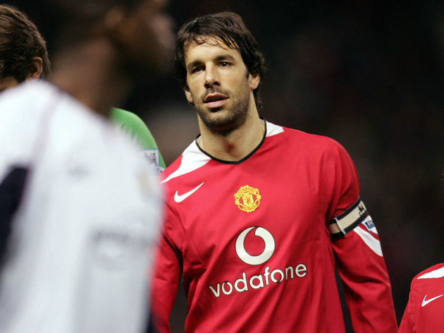 Manchester United's Ruud van Nistelrooy