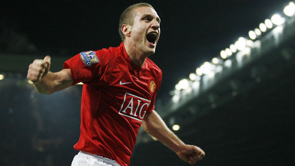 Manchester United's Serbian player Neman