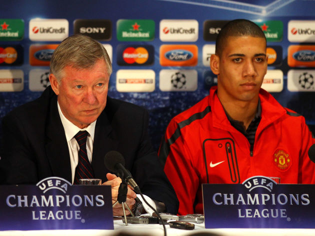 Sir Alex Ferguson,Chris Smalling