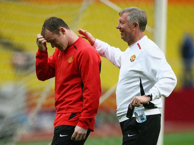 Wayne Rooney,Alex Ferguson