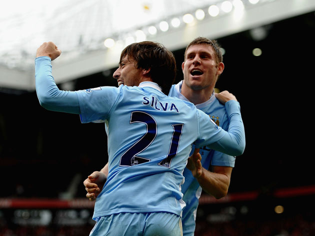 David Silva,James Milner