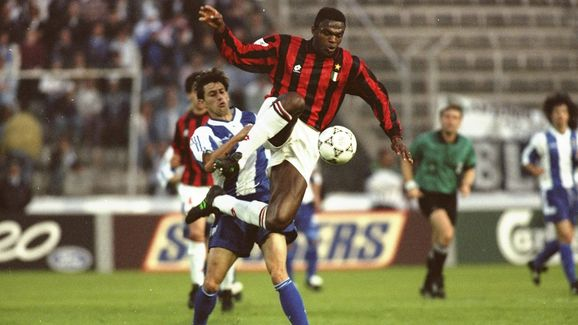 Marcel Desailly of AC Milan