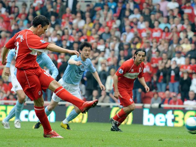 Middlesbrough's English forward Stewart