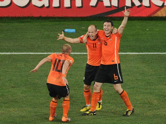 Netherlands' midfielder Wesley Sneijder