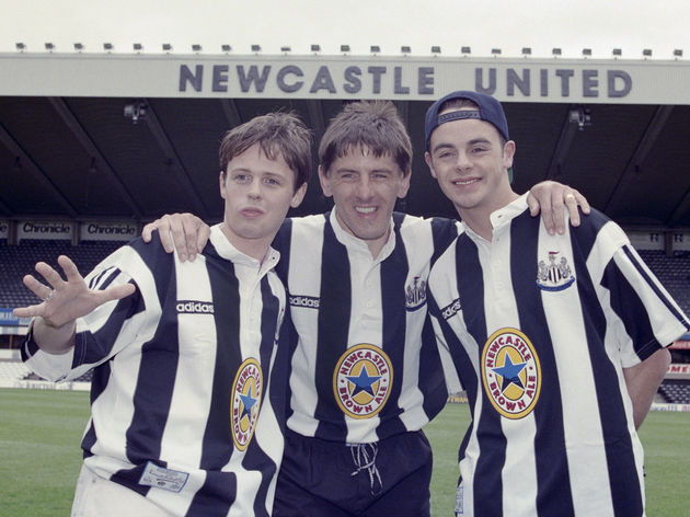 Peter Beardsley,Declan Donnelly,Anthony McPartlin