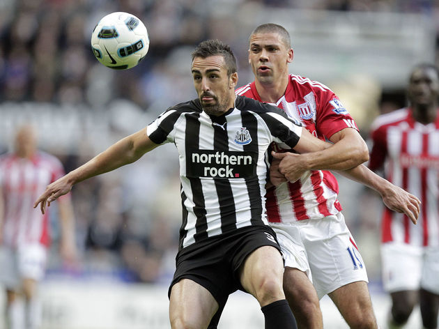 Newcastle United's Spanish defender, San