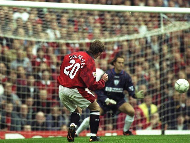 Ole Gunnar Solskjaer of Manchester United