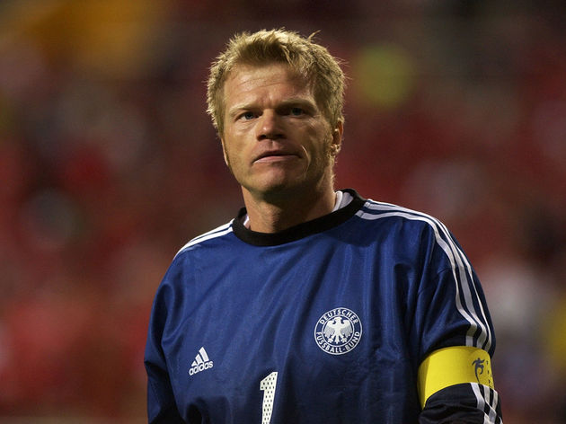 Oliver Kahn of Germany