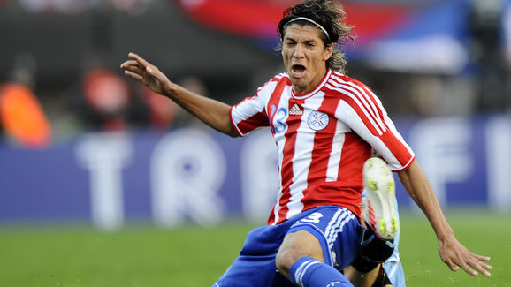 Paraguayan midfielder Enrique Vera is fo