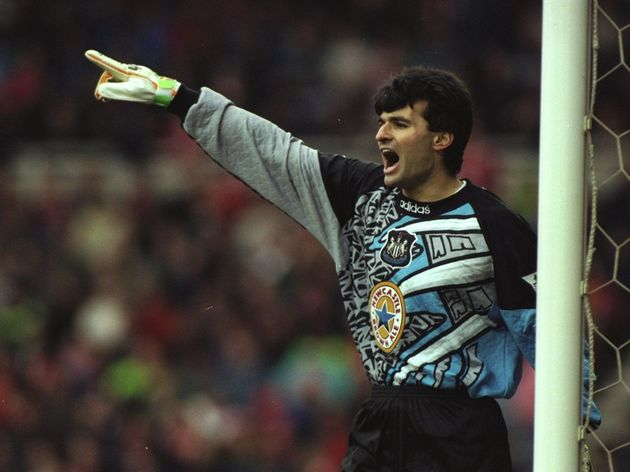 Pavel Srnicek of Newcastle United