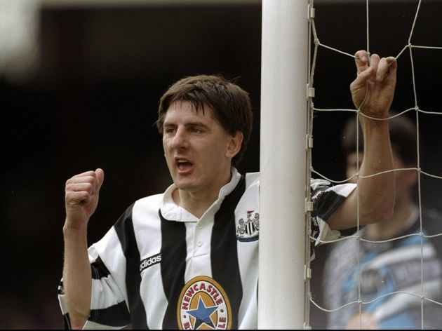 Peter Beardsley of Newcastle United