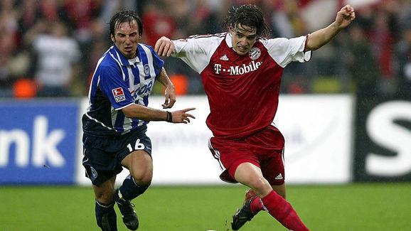 Pinto battles against Hargreaves