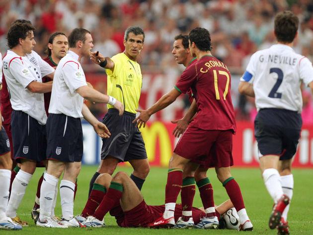 Portuguese defender Ricardo Carvalho lie