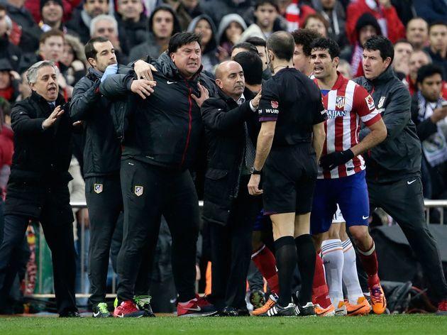 Primera divison - Atletico Madrid v Real Madrid