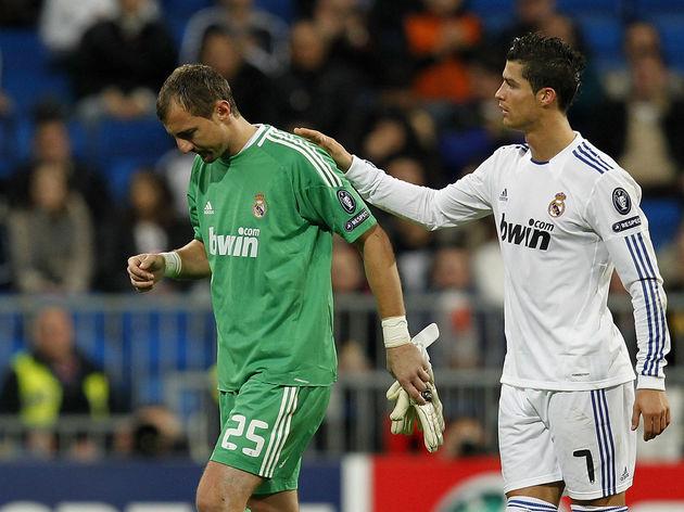 Cristiano Ronaldo,Jerzy Dudek