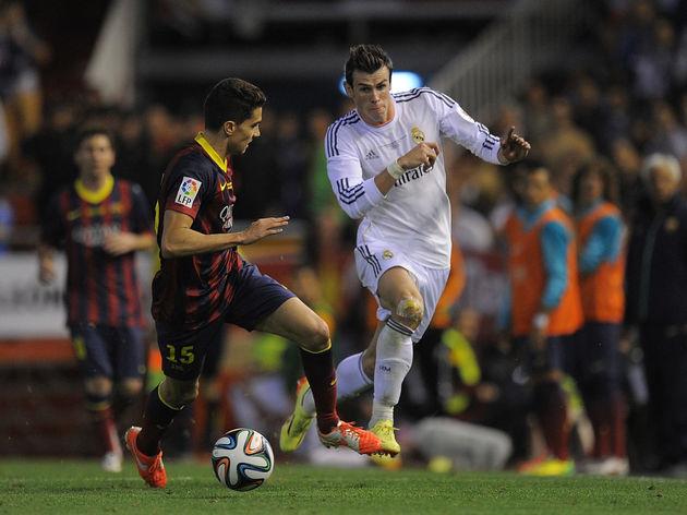 Gareth Bale,Marc Bartra