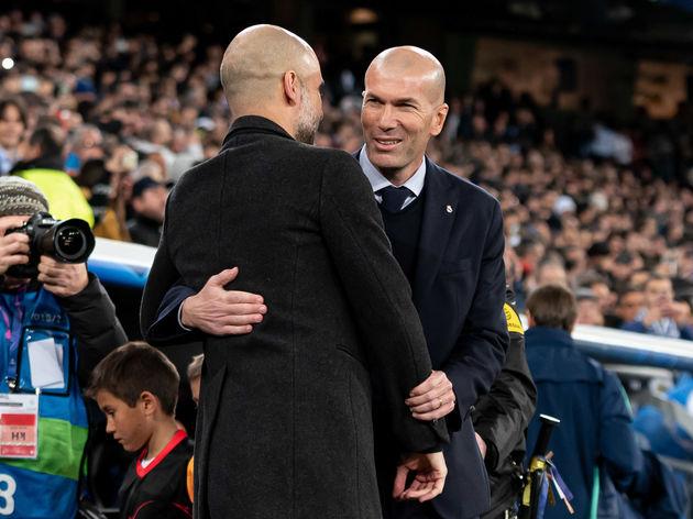 Josep Guardiola,Zinedine Zidane