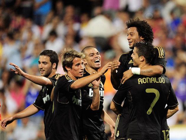 Cristiano Ronaldo,Marcelo,Fabio Coentrao