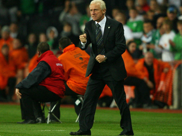 Republic of Ireland's newly appointed Ma