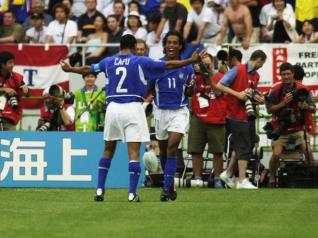 Ronaldinho of Brazil