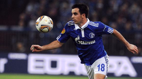 Schalke's Spanish midfielder Jose Manuel