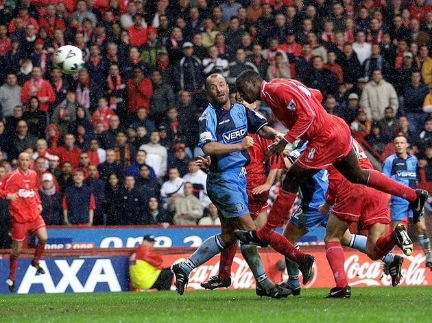 SOCCER-ENGLAND-LIVERPOOL-WYCOMBE-HESKEY