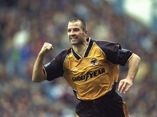 Steve Bull of Wolverhampton Wanderers
