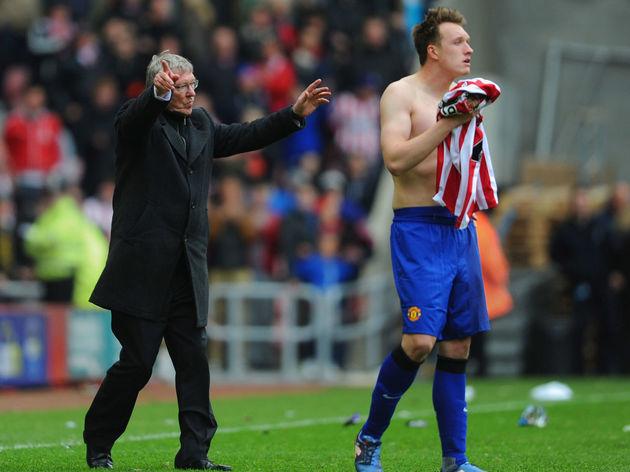 Phil Jones,Alex Ferguson