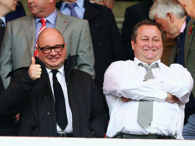 Mike Ashley,Lee Charnely